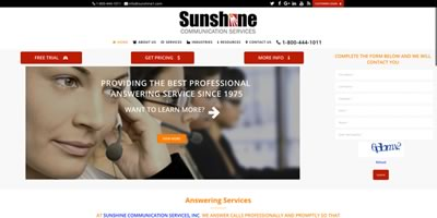 Sunshine CoSunshine Sunshine Communication Services LLC LLCmmunications
